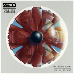 Zedd ft Matthew Koma & Miriam Bryant - Find You (Tritonal Remix)