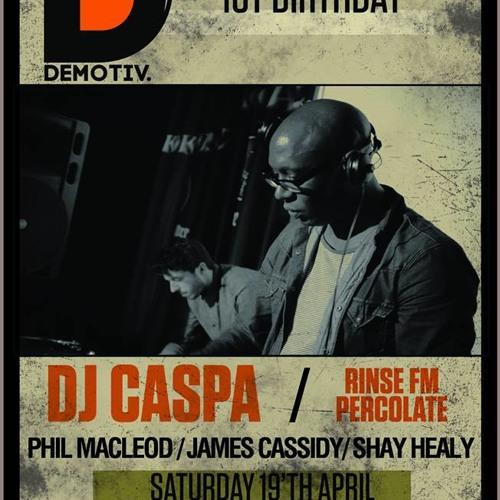 DJ CASPA UPFRONT & PERSONAL VOL…42..4.4.14