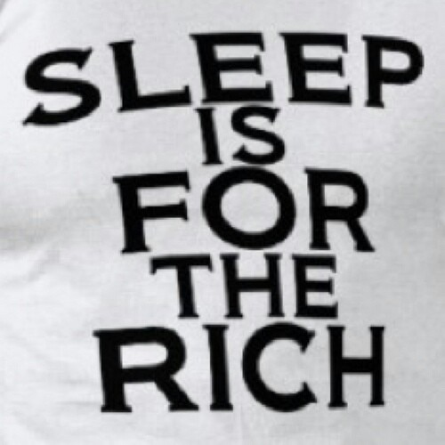 Sleep Is For The Rich - Young X