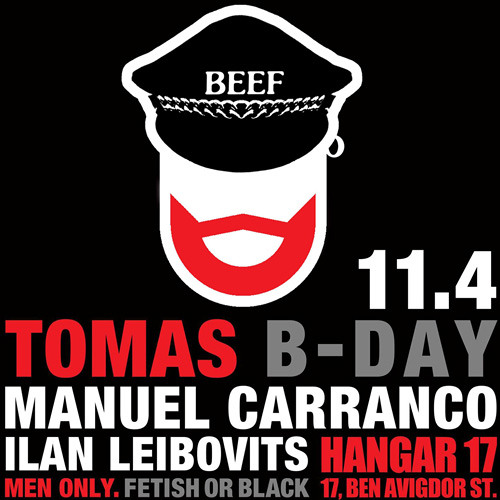 M Carranco In Session - 100%Beef Tom´s BDay 2014