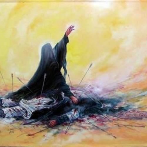 یا حسین غریب مادر - حاج محمود کریمی شب اول فاطمیه اول 1393