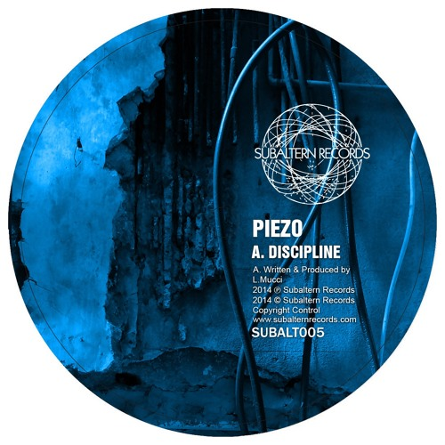 Piezo - Discipline [SUBALT005]