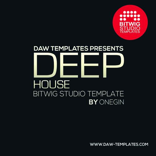 Bitwig Template Deep House