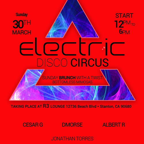 Electric Disco Circus Live Set by Cesar G 3-30-2014