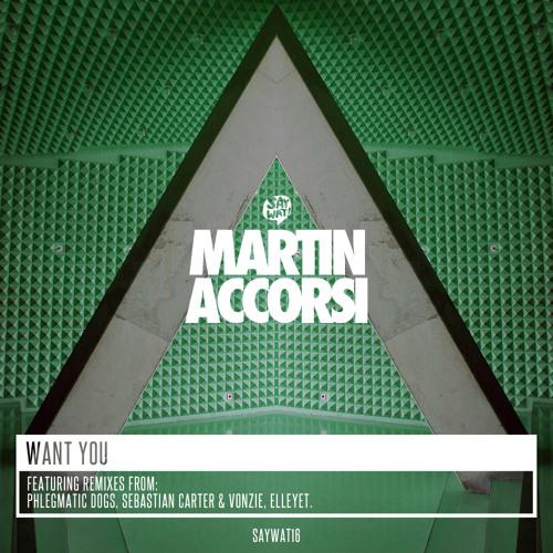 Martin Accorsi - Want You (Elleyet Remix) [Say Wat Records]