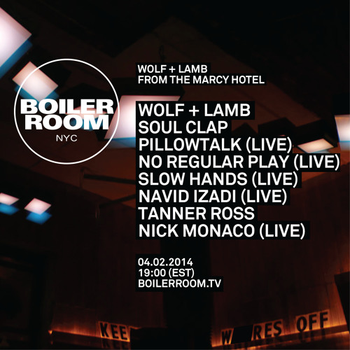 Slow Hands Boiler Room NYC Live Show