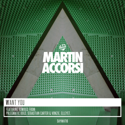 Martin Accorsi - Want You (Sebastian Carter & Vonzie Remix) [Say Wat Records]