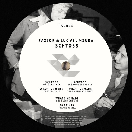Faxior - What I'Ve Made (The Bassment Dub) | Preview | USR54 | OUT NOW!!!
