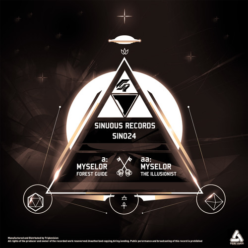 Sinuous Records sin024 - aa .Myselor - The Illusionist