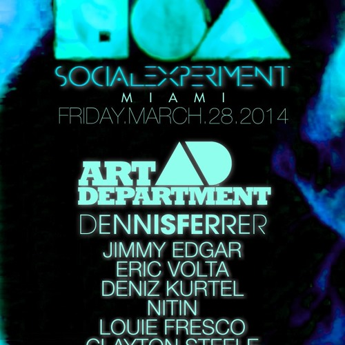 Dennis Ferrer - Social Experiment MMW 2014 (Trade, Miami Beach)