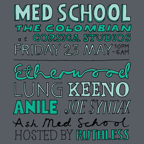 All Med School b2b Mix: Ash X Anile X Keeno X Lung X Etherwood X Joe Syntax