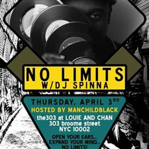 Live At No Limits w/Dj Spinna R.I.P. Frankie Knuckles! 4.3.14  Part 2