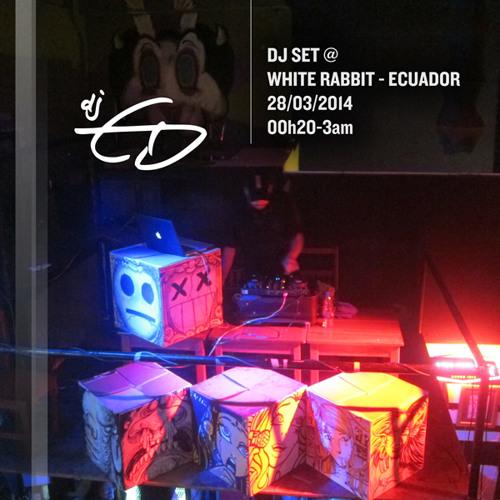 :: dj GD :: dj set - Live @ White Rabbit - Ecuador :: 28/03/2014