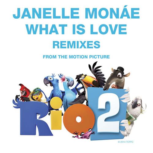 Janelle Monáe - What Is Love (Poupon Remix) [Atlantic Records]