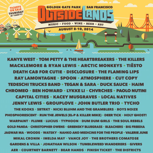 Outsidelands 2014