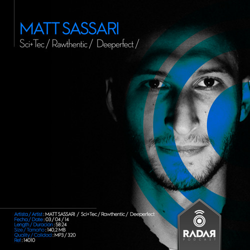Radar Podcast · 14010 · MATT SASSARI