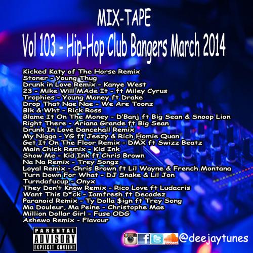Vol103 Club Bangers March 2k14