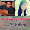 Far Away - Nickelback [EJ ft. Sharie on Guitars] [Full band version cover]