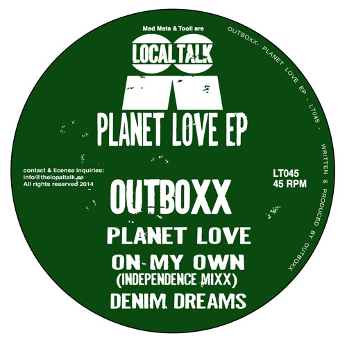 Outboxx - Planet Love EP (12'' - LT045 - 2014) (Out now!!!)