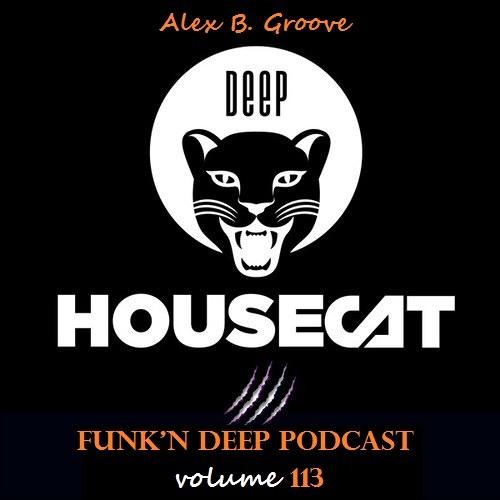 Funk'n Deep Podcast Volume 113 - Alex B. Groove [Deep House Cat]