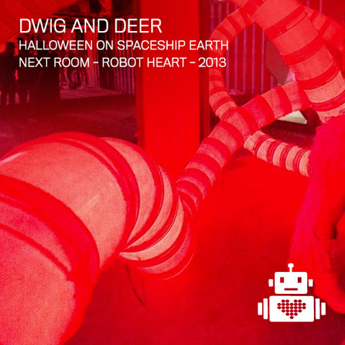 Dwig and Deer Live - Robot Heart - Halloween - NY - 2013