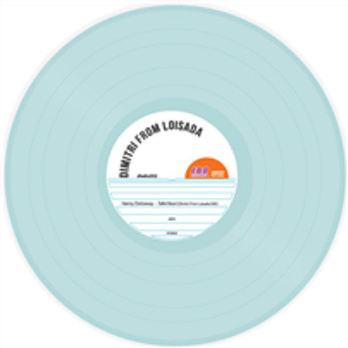 Dimitri From Loisada - Talkin'bout - Special 'Record Store Day' Limited Edition Blue Vinyl