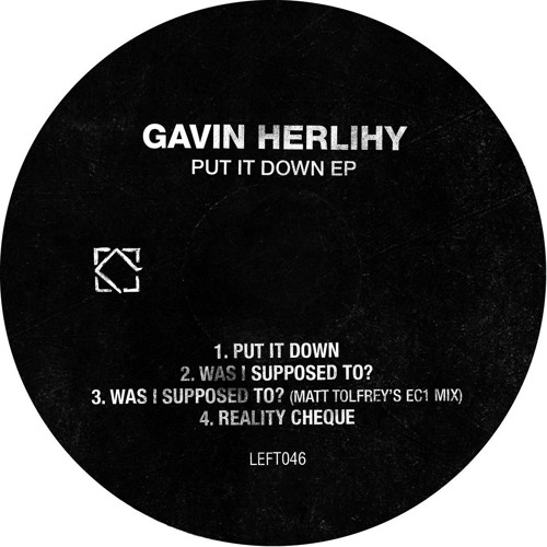 Gavin Herlihy - Was I Supposed To