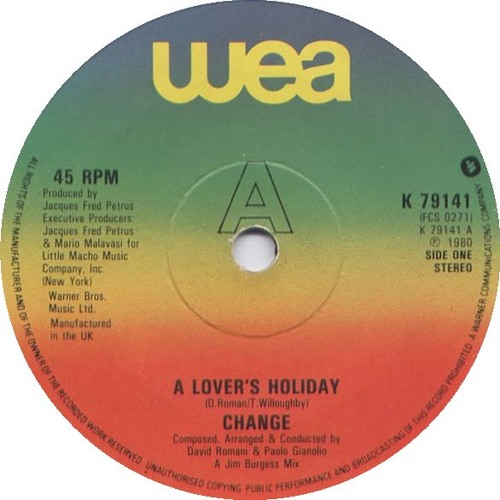 Holiday Lovers (Original mix)