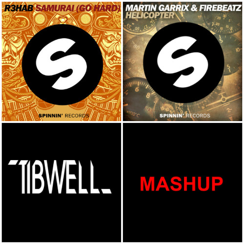 Samurai Goes Ruff Helicopter (MAKJ vs TibWell Short Edit) SUPPORTED BY DJ ORIX*