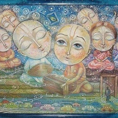 Krishna and Bhagavate