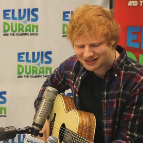 """Ed Sheeran Covers """"Drunk In Love"""" on Elvis Duran and the Morning Show"""