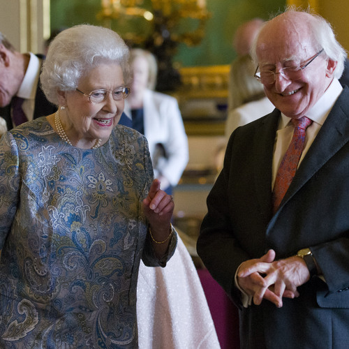 President Michael D Final on the end of his 2014 State Visit - part 1