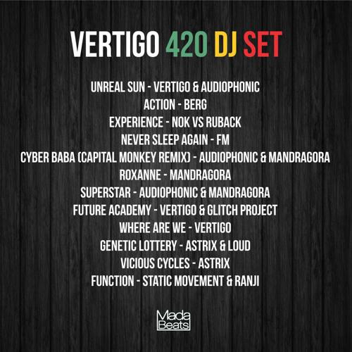 Vertigo DJ Set @ 420 Party 20-04-2013