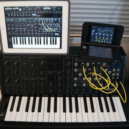 Korg iMS-20 x Korg MS-20 mini