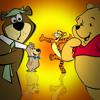 Yogi Bear Vs Winnie The Pooh. CartoonMadeRapBattles