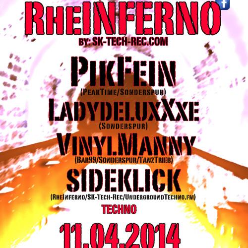 SIDEKLICK @ RheINFERNO 11.04.14 Brückenkopf-Mainz
