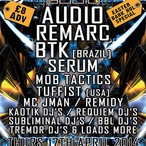 BTK - RED DREAD AUDIO PROMO MIX [17/04/2014]