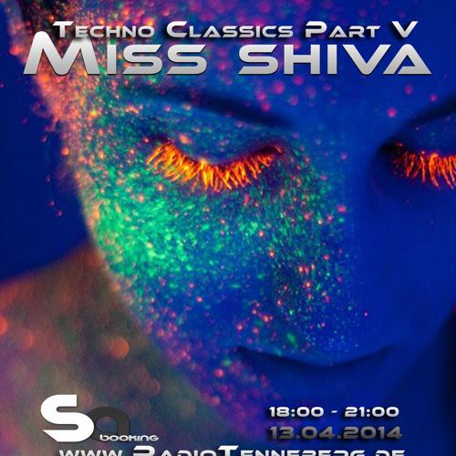 Miss Shiva Presents Techno Classics Part V at Souls Of Trance Radio Show - 04/2014