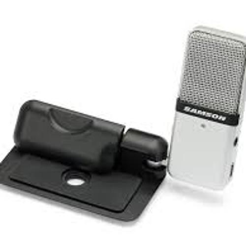 Speak-test Samson USB Go Mic