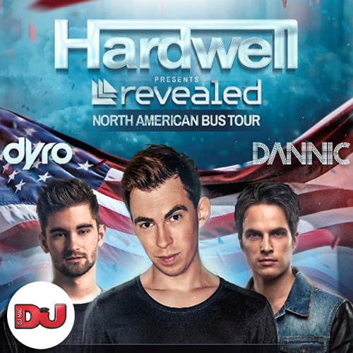 Hardwell's DJ Mag North American Bus Tour Mix