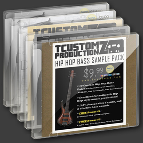 TCustomz Productionz Drum Samples & Sound Kits