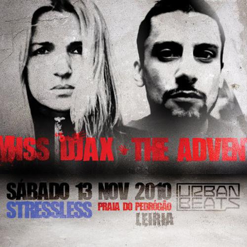 Miss Djax - vinyl set @ StressLess Portugal 2010