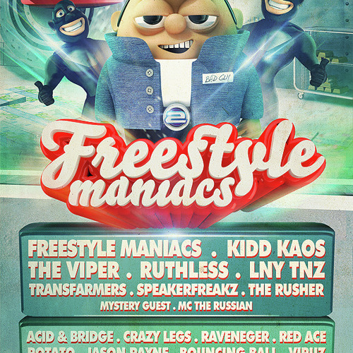 Transfarmers Live @ Freestylemaniacs 12-04-2014(The Sand - Amsterdam)