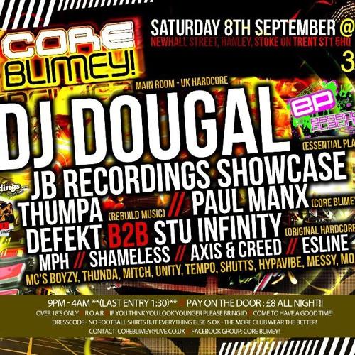 DJ SHAMELESS CORE BLIMEY SET 8TH SEPTEMBER 2012