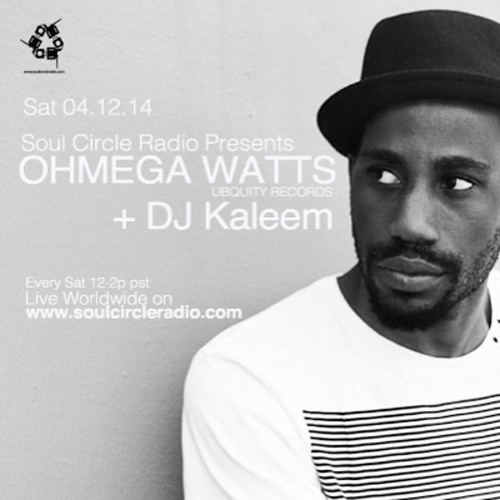 SCR Presents Ohmega Watts DJ Set & Interview