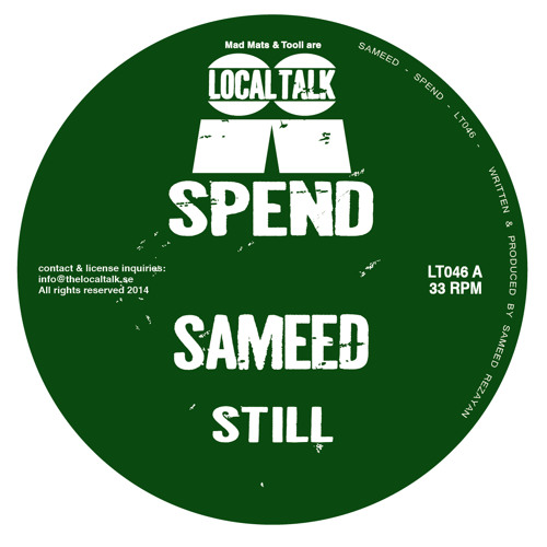 Sameed - Still (12'' - LT046, Side A2)
