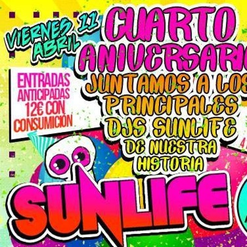 Jus Deelax @ Sunlife 4 Aniversario 11 - 04 - 2014