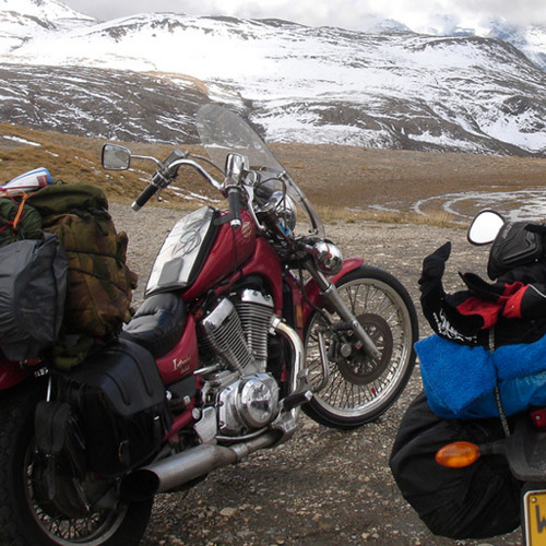 The joy of motorcycle touring