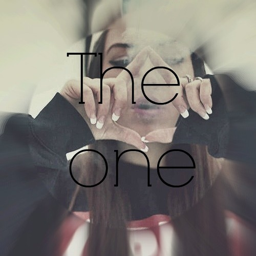 *You are the one*