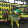 My bAe at Mardi gras parade